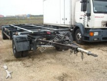 used Schwarzmüller container trailer