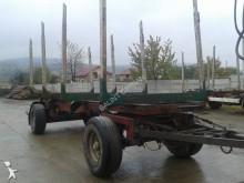 remolque maderero Drema usado