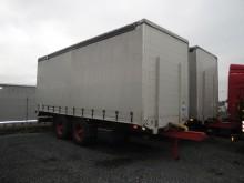 remorca cu prelata si obloane camion platforma cu prelata si obloane Dinkel second-hand