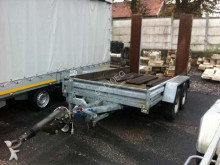 used Hubière flatbed trailer