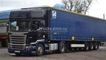 used Krone tarp trailer