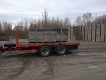 used Asca flatbed trailer