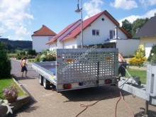 used Berger car carrier trailer