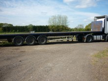 used Fruehauf flatbed trailer