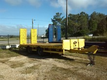 used Fruehauf heavy equipment transport trailer
