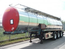 used Clayton chemical tanker trailer