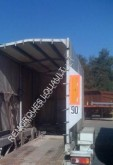 used Verem flatbed trailer