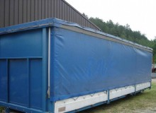used Lapalus tautliner trailer
