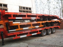 Cimc heavy equipment transport trailer