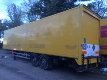 used Fruehauf plywood box trailer