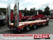 used Mueller heavy equipment transport trailer