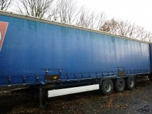 used Krone tautliner trailer