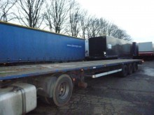 used Van Hool flatbed trailer