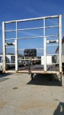 used Samro straw carrier flatbed trailer