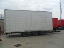 used Omar box trailer