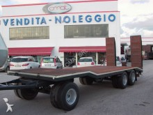 used De Angelis heavy equipment transport trailer