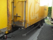 used Samro plywood box trailer