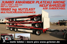 new Krone heavy equipment transport trailer