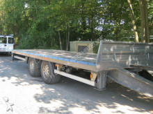 used Wecon heavy equipment transport trailer