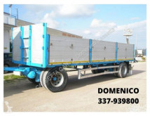 used Adige dropside flatbed trailer