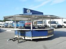 used beverage delivery flatbed trailer