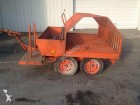 used Remorque Mandrinoise flatbed trailer