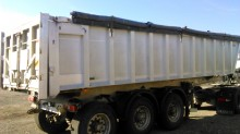 used construction dump trailer