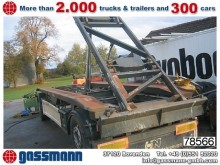 used Hüffermann hook lift trailer