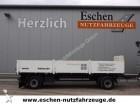 used Kögel flatbed trailer
