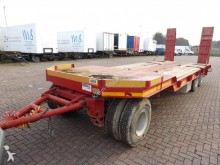 used Cometto heavy equipment transport trailer