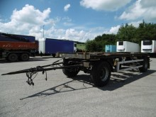 Meiller 2 Achs Abroll Anhänger pneum. Verriegelung trailer