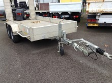 used Daudin heavy equipment transport trailer