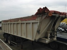 used construction dump trailer