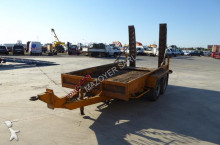 used Gourdon heavy equipment transport trailer