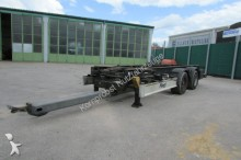 used Fliegl chassis trailer