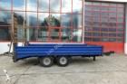 used Humbaur heavy equipment transport trailer