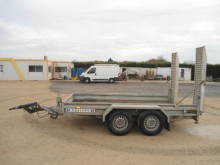 used Hubière heavy equipment transport trailer