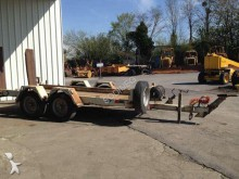 used Moiroud flatbed trailer