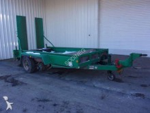 used Gourdon flatbed trailer
