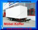 remolque Moeslein Tandem Möbel Koffer Anhänger, Neufahrzeug