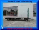 remorque Krone 3 Achs Jumbo Plattform Anhänger