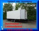used Moeslein box trailer