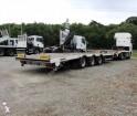 used Samro heavy equipment transport trailer