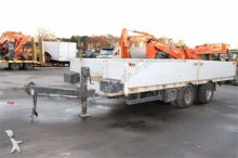 used Tandem dropside flatbed trailer
