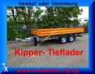 remorque Moeslein Tandem Kipper Tieflader Neufahrzeug
