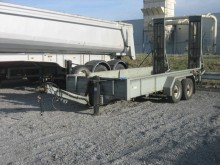 used Humbaur heavy equipment transport trailer