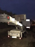 used Bocker aerial platform trailer