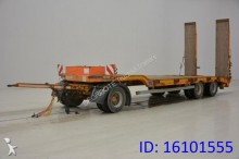 used Faymonville heavy equipment transport trailer