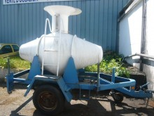 used oil/fuel tanker trailer
