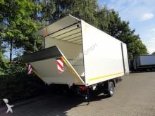 Moeslein 1 Achs Kofferanhänger Ladebordwand Durchladba trailer